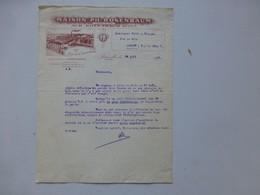 BRUXELLES Rosenbaum 1923 Lettre Facture Illustrée (R. Buanderie) Ref 602 ; PAP06 - België