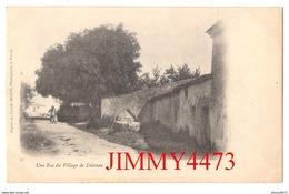 CPA - Une Rue Du Village De Didonne 17 Charente Inf. - N° 37 - Cliché BRAUN  Photographe à Royan - Saint-Georges-de-Didonne