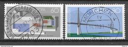 Germany/Bund Mi. Nr.: 1321 - 22 Vollstempel (brv80er) - Gebraucht