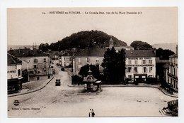 - CPA BRUYÈRES-EN-VOSGES (88) - La Grande-Rue, Vue De La Place Stanislas - Edition L. Guerre N° 24 - - Bruyeres