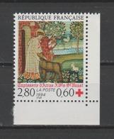 FRANCE / 1994 / Y&T N° 2915a ** : Croix-Rouge (Tapisserie D'Arras) De Carnet CdC D - Gomme D'origine Intacte - Unused Stamps