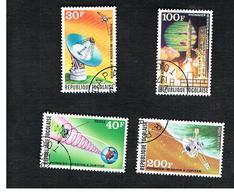 """TOGO  - SG 1014.1017  -   1974  U.S. """"JUPITER"""" SPACE MISSION  (C0MPLET SET OF 4)  - USED ° - Togo (1960-...)"""