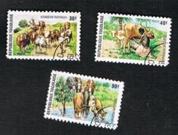 TOGO  - SG 1042.1045  -   1974  PASTORAL ECONOMY  (COMPLET SET OF 4)  - USED ° - Togo (1960-...)
