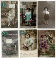 Lot  De 12 CP Garçonnets Lot N°1 - Cartes Postales