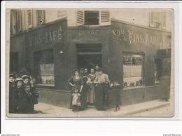 PARIS : Vins-café, Au Bon Picolo, Rue Sauvageot - Etat - France