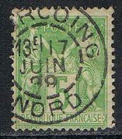 "FRANCE : N° 106 Oblitéré  (Type Sage) Beau TàD ""TOURCOING"" - PRIX FIXE - - 1876-1898 Sage (Tipo II)"