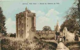 60 - Vez - Entrée Du Château De Vez - Carte Neuve - Voir Scans Recto-Verso - France