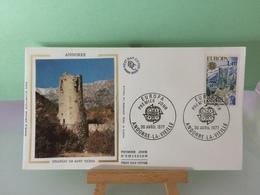 Europa CEPT Château De Sant Vicens - Andorre La Vieille - 30.4.1977 FDC 1er Jour Coté ..€ - FDC