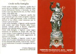 B 2619 - Calendarietto, Santhià - Calendars