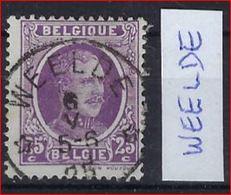 HOUYOUX Zegel Met DEPOT - RELAIS / STERSTEMPEL WEELDE   ; Staat Zie Scan ! - 1922-1927 Houyoux