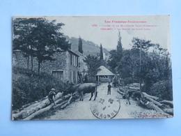 C. P. A. : 09 ORGIBET : La Route De Saint-Lary , Animé, En 1919 - France