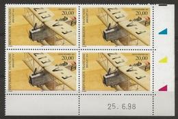 France YT PA 61 Bréguet XIV N** CD 26/06/98 - 1990-1999