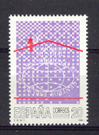 Spain 1988 - Casas Regionales Ed 2959 (**) Mi 2840 - 1931-Heute: 2. Rep. - ... Juan Carlos I