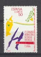 Spain 1990 - Ciencias Historicas Ed 3075 (**) Mi 2952 - 1931-Heute: 2. Rep. - ... Juan Carlos I