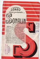 Aulnay Sur Mauldre (78 Yvelines) Prospectus SONALIN  Peinture à L'huile  (PPP20025) - Advertising