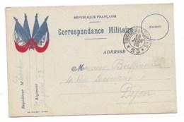 CARTE POSTALE MILITAIRE  FRANCHISE ... Cachet  Trésor Et Poste 53  18 Juin 1915   M5 - Postmark Collection (Covers)