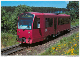 AK Eisenbahn Harzgerode Harzer Schmalspurbahnen HSB Diesel TW 187 015 Alexisbad DB Werk Wittenberge Deutsche Bahn Rail - Eisenbahnen