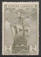 Spain 1930 Columbus And The Discovery Of America - Ships 2 C Olive SW 499 * M/M - Unused Stamps