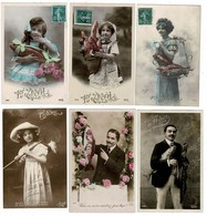 Lot  De 12 CP 1er AVRIL Lot N°1 - Postcards