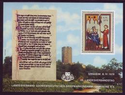 Vignette 1978 26. Landesverbandstag Sinsheim  - BRD