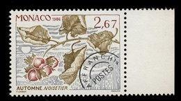 Monaco 1986 - Neuf - Scanné Recto Verso - Y&T N° 92 Préoblitéré - Noisetier -  Automne 2,67 - Préoblitérés