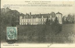 08 Ardennes FAGNON Le Chateau De Sept Fontaines Jadis Abbaye Des Prémontrés Lire Le Récit Intéressant - Autres Communes
