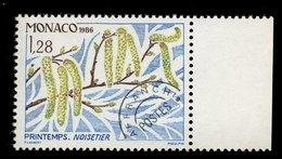 Monaco 1986 - Neuf - Scanné Recto Verso - Y&T N° 90 Préoblitéré - Noisetier -  Printemps 1,28 - Préoblitérés