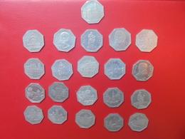 NÜRNBERG-STRASSENBAHN LOT 21 MONNAIES DE NECESSITES ANNEES 1920s - Münzen & Banknoten