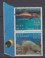 El Salvador 2004 UPAEP / Marine Life 2v ** Mnh (44390) - El Salvador