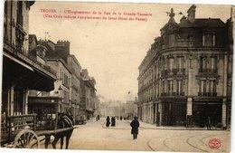 CPA TROYES - L'Élargissement De La Rue De La Grande-Tannerie (72029) - Troyes
