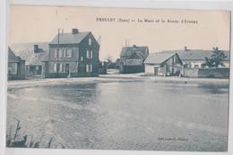 FRESNEY - La Mare Et La Route D'Evreux - Frankrijk