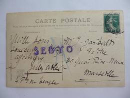 Jules Adler. Carte Envoyée  Au Peintre Garibaldi à Marseille. - Autographes