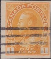 Canada   .   SG  .    259    .      O   .   Cancelled      .   /   .    Gebruikt - 1911-1935 Regering Van George V