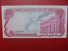 VIETNAM(SUD) 20 DÔNG 1969 PEU CIRCULER (B.6) - Viêt-Nam
