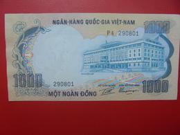 VIETNAM(SUD) 1000 DÔNG 1972 PEU CIRCULER (B.6) - Viêt-Nam