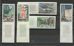 Algérie Série 364/ 368 ** MNH, Non Dentelée , Cote YT 40€ - Argelia (1924-1962)