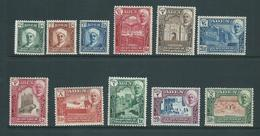Aden Qu'aiti State Shihr Mukalla 1942 Definitive Set Of 11 MLH - Aden (1854-1963)