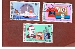 TOGO  - SG 1126.1128  -   1976  TELEPHONE CENTENARY   - USED ° - Togo (1960-...)