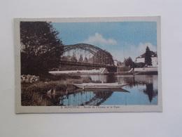 Carte Postale  - MONETEAU (89) - Bords De L'Yonne Et Le Pont (3361) - Moneteau