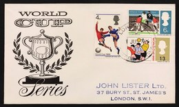 Great Britain 1966 First Day World Cup 1966 Mondiali Di Calcio  Primo Giorno Cod.bu.266 - 1952-.... (Elisabetta II)