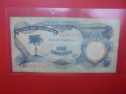 BIAFRA 5 SHILLINGS 1968-69 CIRCULER (B.6) - Nigeria