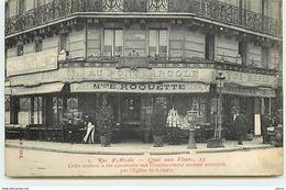 PARIS IV - Rue D'Arcole - Quai Aux Fleurs 23 - Maison E. Roquette - Arrondissement: 04