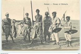 ASSUAN - Group Of Bisharin - Asuán