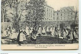 GRENOBLE - Rue Des Dauphins - Institut Ménager - Cours De Jardinage - Grenoble