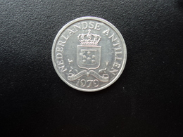 ANTILLES NÉERLANDAISES : 2 ½ CENTS  1979   KM 9a      SUP+ - Antille Olandesi