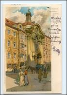 S2106/ Paul Hey Litho AK  München 1902 - Allemagne