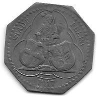 *notgeld Fulda  50 Pfennig 1917 Zn  4630.3 / F 146.2a - [ 2] 1871-1918 : Imperio Alemán