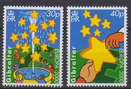 Europa Cept 2000 Gibraltar 2v (30+40p) (3x) ** Mnh (44393) - Europa-CEPT