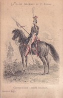 GARDE IMPERIALE 1 ER EMPIRE.  DESSIN DE RAFFET        CHEVAU LEGER LANCIER POLONAIS - History