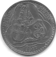 *notgeld Fulda  50 Pfennig 1917 Zn  24 Mm 4630.6 / F 146.4b - [ 2] 1871-1918 : German Empire